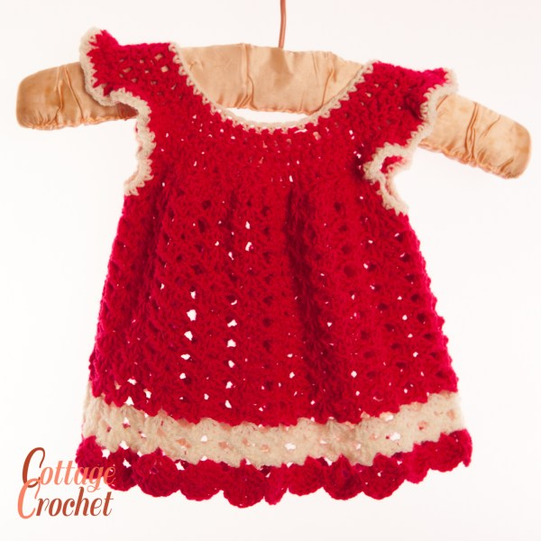Red Christmas Baby Dress