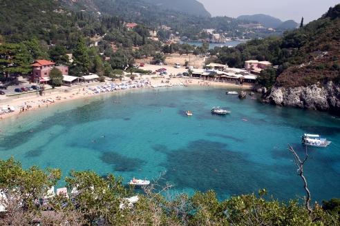 Hier gibt es viele Hotels auf Korfu