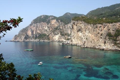 Schöne Tauch Spots auf Korfu
