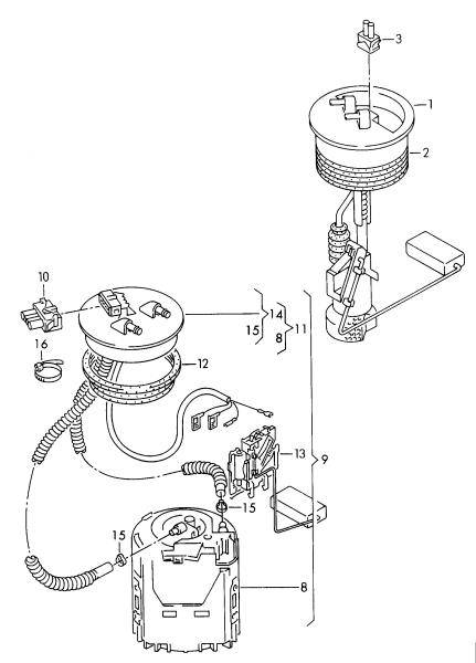 OEM VW Fuel Level Sender (B4)