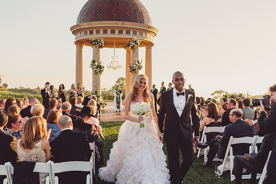 The Resort at Pelican Hill Wedding Carrie  Billy  Kern