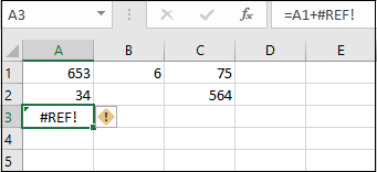 8 Excel Errors And The Way To Fix Them