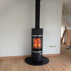 Images Of Living Rooms With Wood Burners Casual Scan 85 In An Open Plan Room Burning Stove Installation