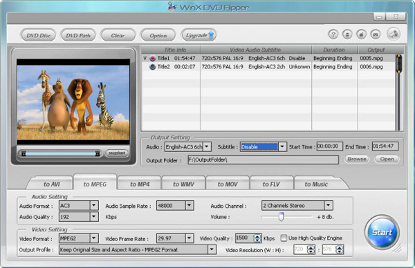filmes no formato mpeg1