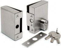 Door Lock & Keep for 10mm Glass Door without Glass ...