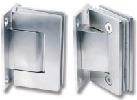 Wall Mounted Soft Closing Glass Door Hinges ...