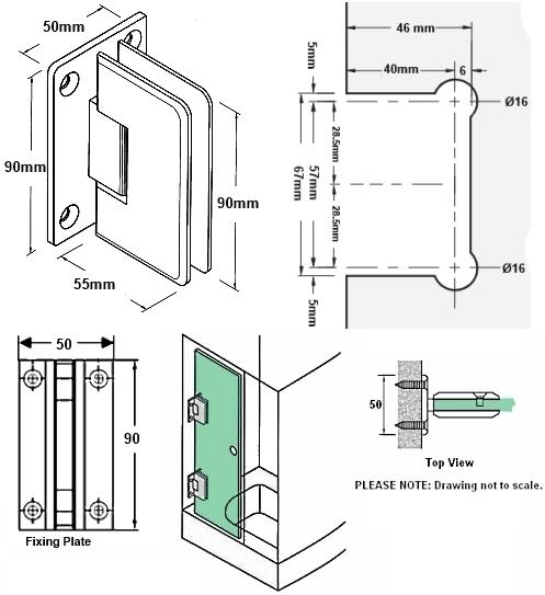 Dual Swing Door. Lodwka Samsunga LuxLux. Lockwood 9800