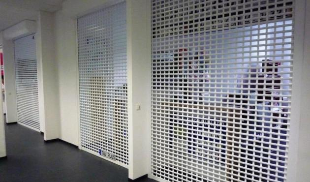 Folding grills AS 55 in external building element
