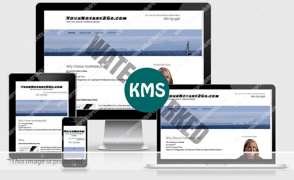 Your Notary 2 Go - mobile responsive