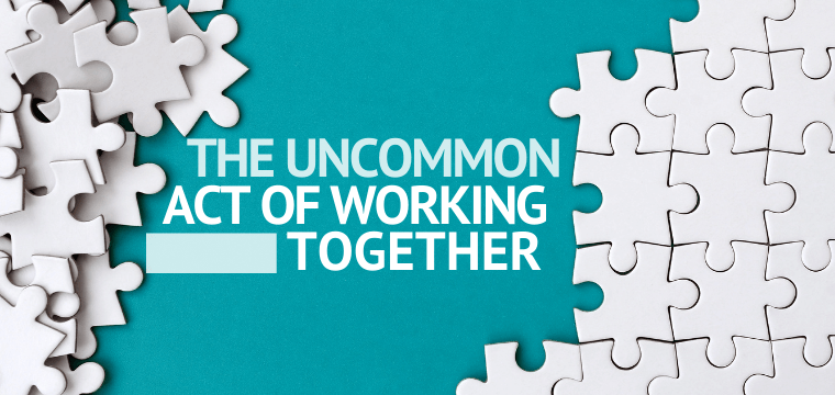 The Uncommon Act of Working Together