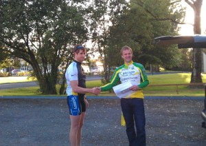 Cathal Moynihan - Overall Winner of the 2011 Kerry Time Trial League