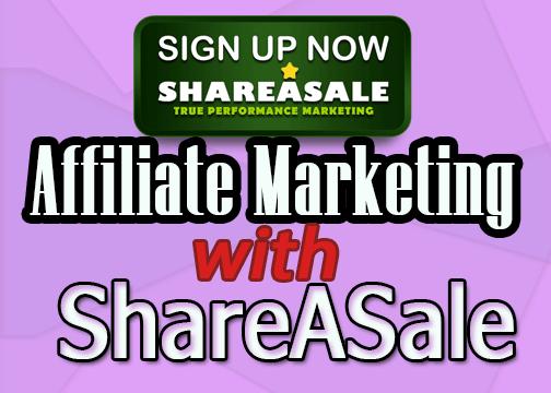 Shareasale affiliate marketing