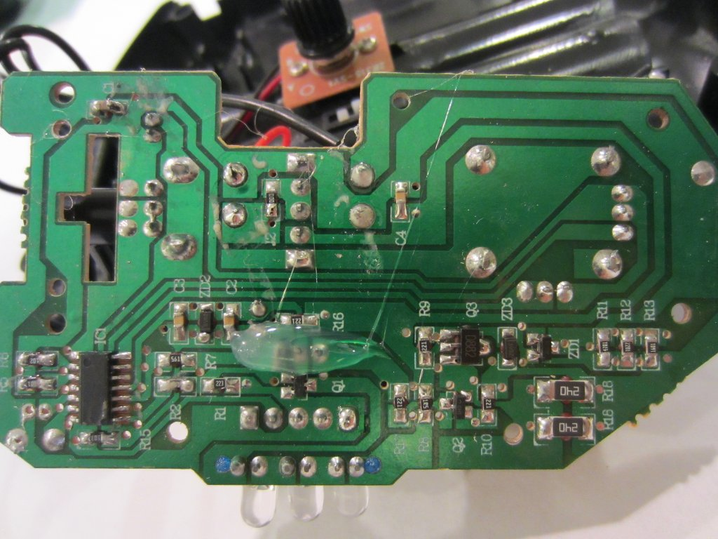 hight resolution of transmitter circuit board