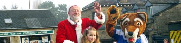 Santa is here!