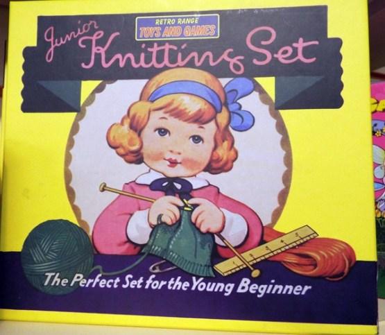 29 Retro Junior Knitting Set at Kershaw's Garden Centre