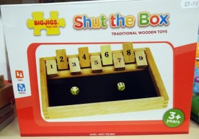 32 Shut the Box at Kershaw's Garden Centre