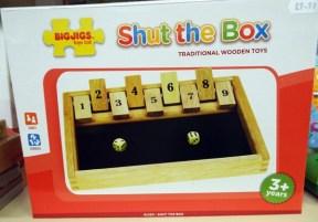 32 Shut the Box at Kershaw's Garden Centre