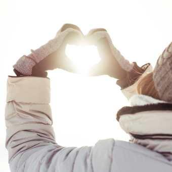 Sonnen-Herz für Dich und Dein Kind!