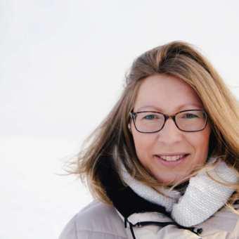 Winterkleid für Kerstin Hiemer