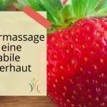 Massagegeschichte für die Kinderhaut