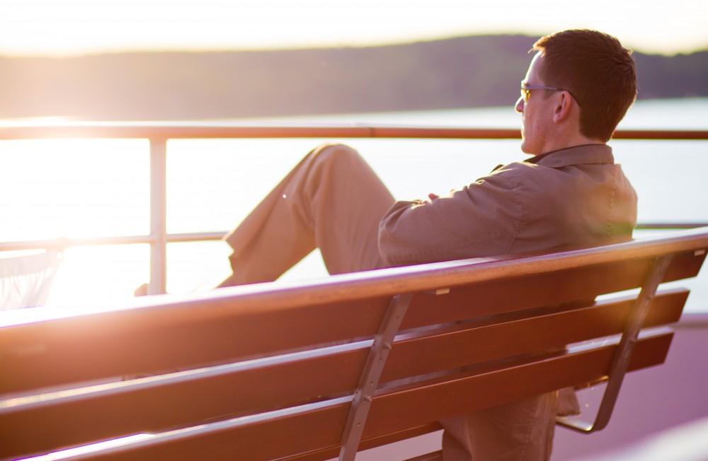 Sonnenuntergang auf der Herrsching - Fotografie Unternehmenskommunikation