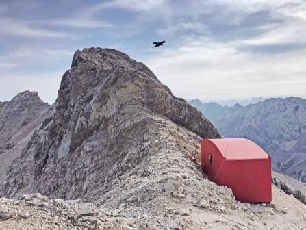 Das Biwak zwischen Mittlerer und Äußerer Höllentalspitze - #myhomeiswheremyheartis