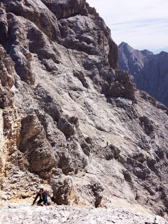 Der Mensch als Maß erst macht die gewaltige Größe der Felsen erkennbar