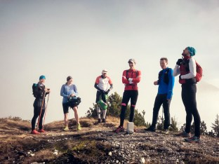 Soierngruppe - Trailrun mit den DAV Flinkfüßern