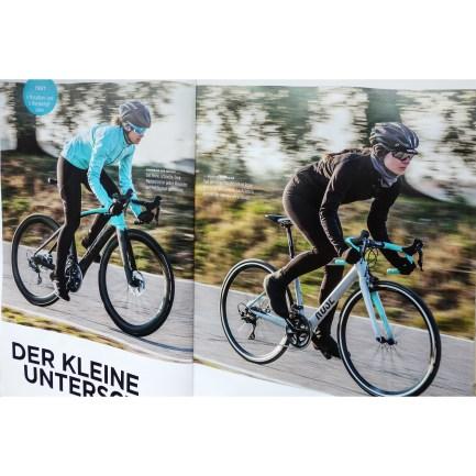 Frauen Wettkampf Rennräder testen