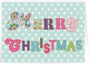 Fijne kerst tekst voor op een kaartje