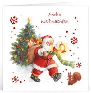 kerst teksten Duits voor op een kaartje