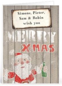 kerst teksten vriend