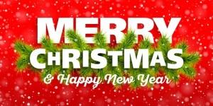 Kerst en nieuwjaarswensen