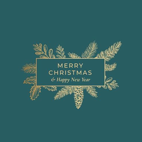 Verbazingwekkend Originele kerstteksten en kerstwensen voor een kerstkaartje. AN-13