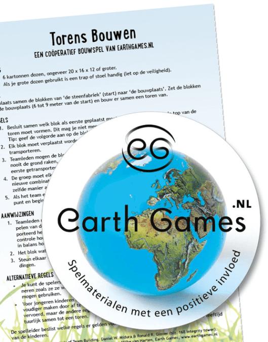 Earthgames - Coöperatief spel: Torens bouwen