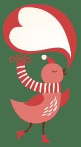 Kusjeskaarten - geïnspireerd door het kusjesboek: voor iedereen die je dierbaar is maar niet bij je kan zijn deze Kerst