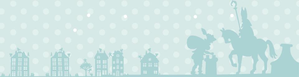 Magische tijd: Sint en Piet gooien op het dak de pakjes door de schoorsteen.