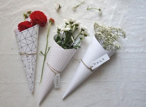 Blumendeko made by @diekleinebotin