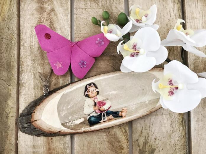 Vatertag Geschenkidee - Foto auf Holz