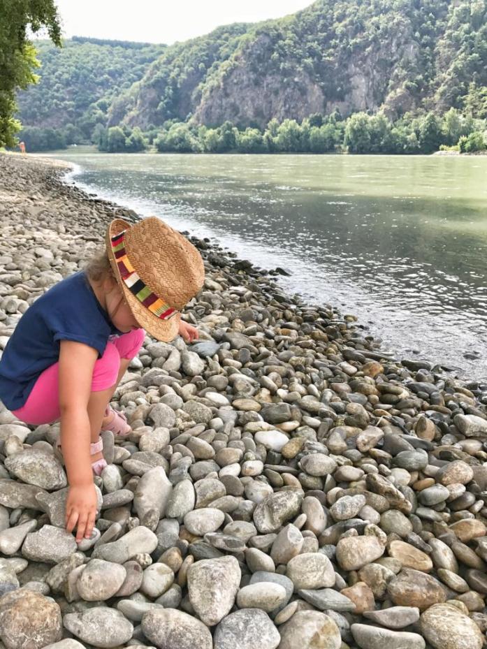 Kinderspielplatz an der Donau
