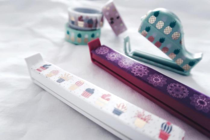 10 DIY Ideen Washi Tape - Tiefkühlbeutel Clip Verschluss