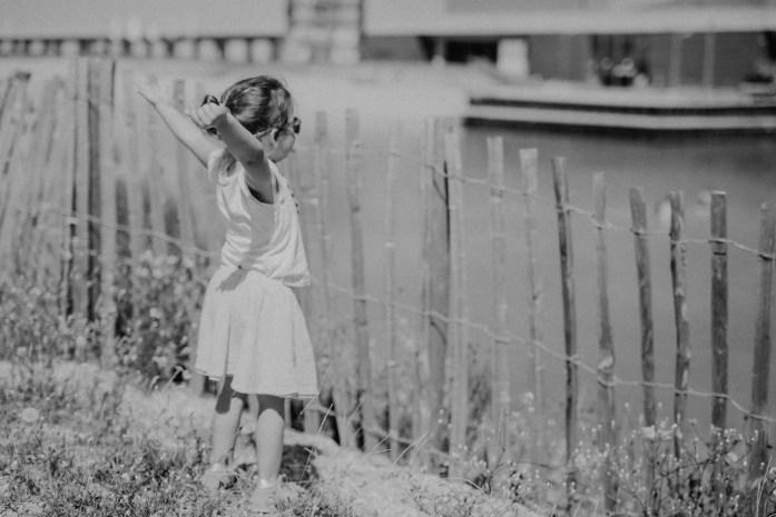 Fotoshooting schwarz weiß mit Körnung