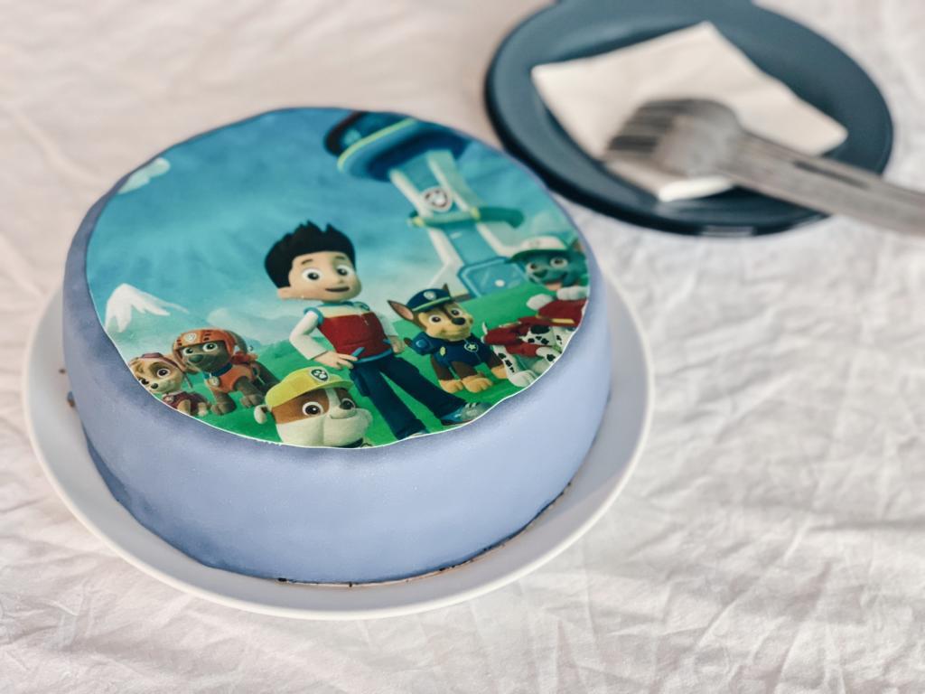 Kindergeburtstag - Paw Patrol Geburtstagsfeier, Party für Kinder, Mottoparty - Torte