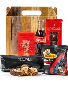 Cola, Cake en Meer kerstpakket