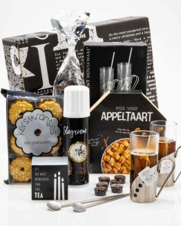 Warme Appeltaart kerstpakket
