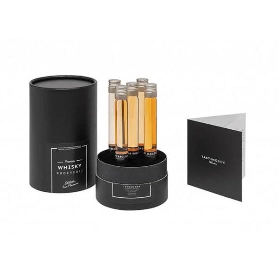 Whisky geschenkbox Five Flavours 5
