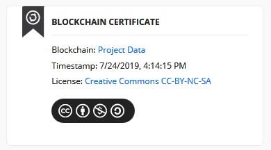 Creary Blockchain Certificate