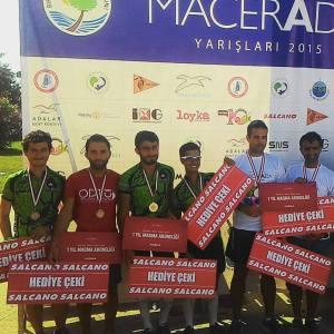 2015 Macerada Birinciliği: Ercan ve Doruk
