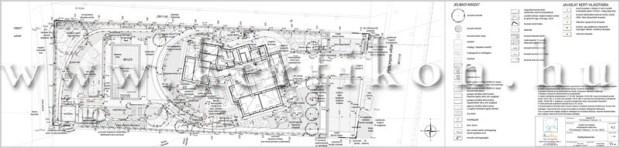 Kertépítészeti terv - teraszolt kert tervezése
