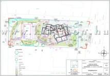 Koncepció terv - teraszolt kert tervezese